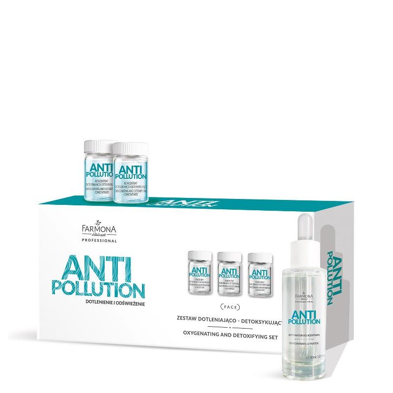 ANTI-POLLUTION Активно насыщающий кислородом и детоксифицирующий набор