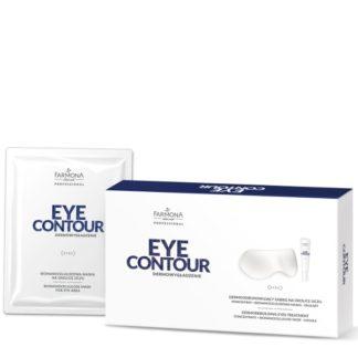 EYE CONTOUR Дермовосстанавливающая процедура (концентрат+бионаноцеллюлозная маска-очки)