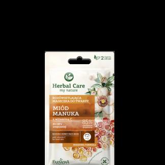 Выравнивающая тон маска для лица Мёд Манука Herbal Care