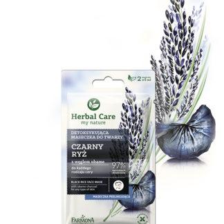 Детоксифицирующая маска для лица Черный Рис Herbal Care