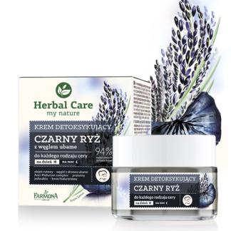 Крем детокс Черный Рис Herbal Care на день/ночь