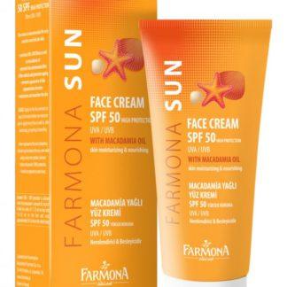 Крем для лица с маслом макадамии SPF 50 Sun Balance