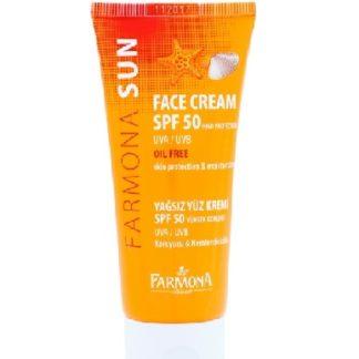 Солнцезащитный крем для лица обезжиренный SPF 50 SUN BALANCE