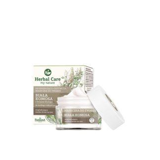 Восстанавливающая питательная маска для лица Белое Киноа и Фитиновая Кислота Herbal Care 50 мл