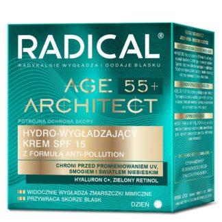 Дневной разглаживающий крем с формулой Anti-Pollution SPF15 RADICAL® AGE ARCHITECT 55+