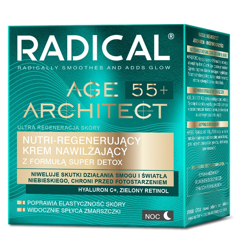 Ночной восстанавливающий нутри-крем RADICAL® AGE ARCHITECT 55+