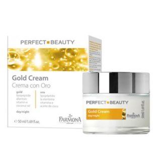 PERFECT BEAUTY Крем для лица с золотом