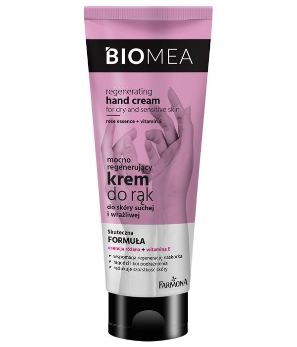 BIOMEA Регенерирующий крем для сухой и чувствительной кожи рук
